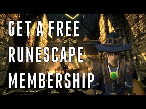 How to Get Free RuneScape Membership (Legal) 2015