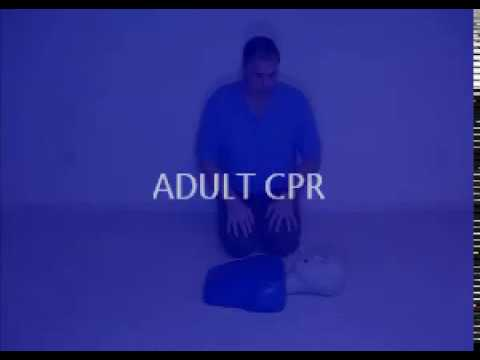 Online CPR training - Adult CPR