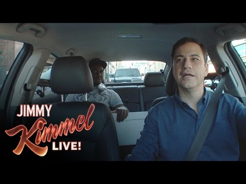 Jimmy Kimmel the Uber Driver