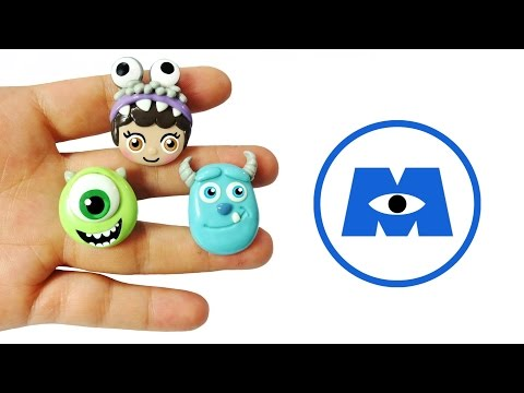 MONSTERS INC! Polymer Clay Tutorial