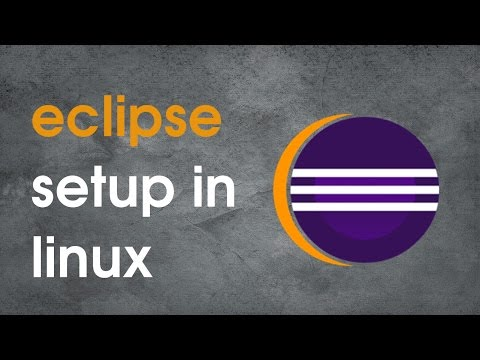 How to set Eclipse IDE in Centos 7?