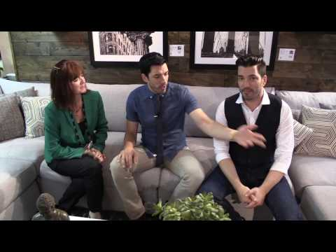 Jonathan and Drew Scott, aka The Property Brothers, want to see your living room