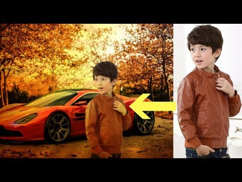 How To Change Background Of Photo In Photoshop ..!!