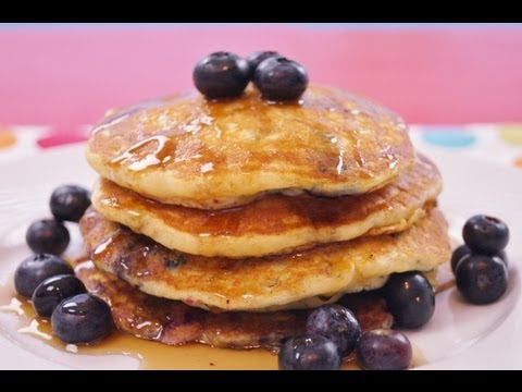 Blueberry Pancakes Recipe: How To Make Pancakes: Best From Scratch: Di Kometa-Dishin' With Di #93