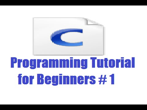 C Programming for Beginners 1 - Installing CodeBlocks and Getting Started (For Absolute Beginners)