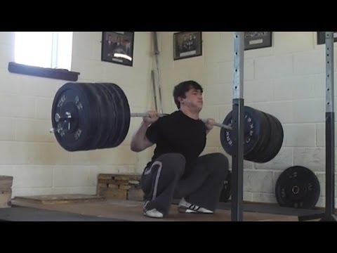 ATG Backsquat 231kg x8 reps