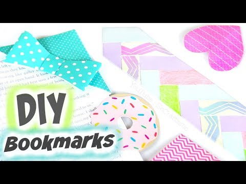 EASY DIY BOOKMARKS for Back To School - Corner Bookmark - How To | SoCraftastic