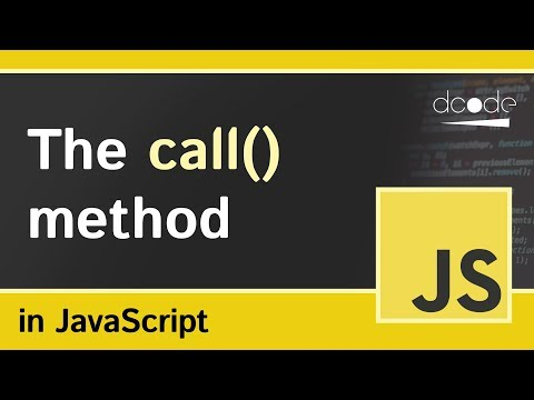 The 'call' method in JavaScript | Function Call Explained