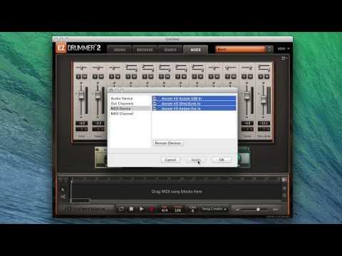 EZdrummer 2: MIDI learn & MIDI controller use