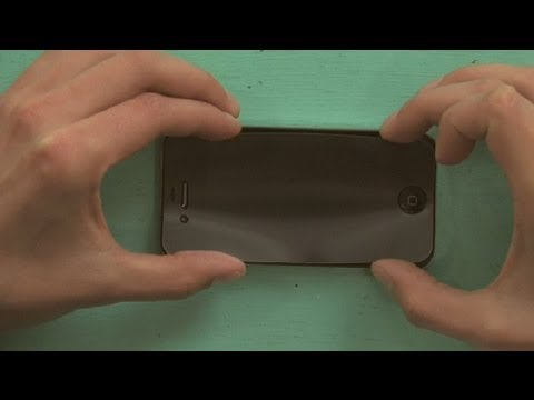 How to Put a Screen Protector on iPhone Without Creating Bubbles : iPhone Help