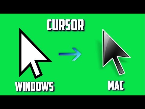 How To Get MAC Cursor For FREE On Windows 7/8/8.1/10 2018!