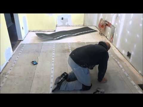 How To Install A Mesh Subfloor (Tiling Preparation)