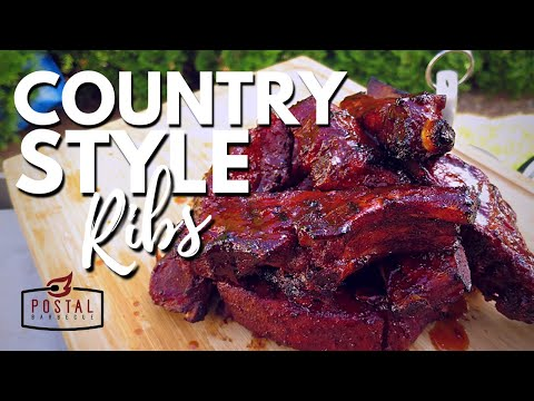 Country Style Pork Ribs - How to Smoke Country Ribs Recipe | Pit Barrel Cooker