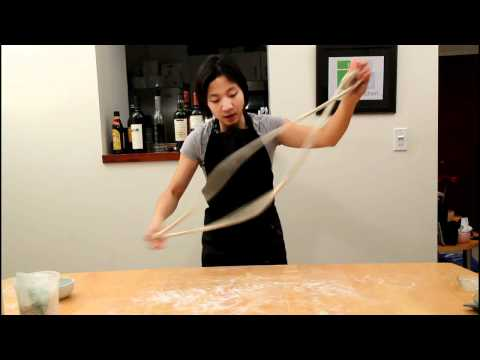 Hand Pulled Noodles by Tiny Urban Kitchen