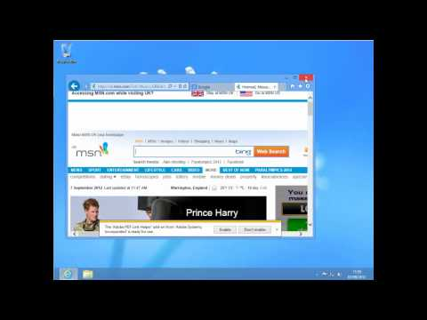 Windows 8 - Open a new Tab in Internet explorer