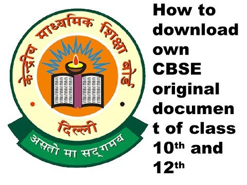 how to get your CBSE original marksheet , passing certificate & migration of 10th & 12th