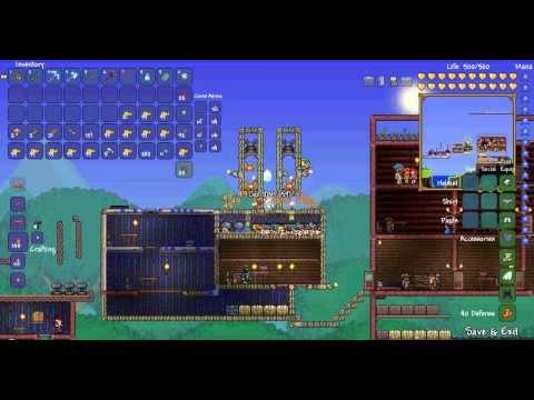 Simple to Build Terraria Fish Farm Make 2 Platinum/Hour AFK 1 Crab engine 1 Fish Statue