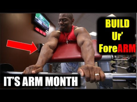 BIGGER FOREARMS | Forearm Training, Exercises, Workout