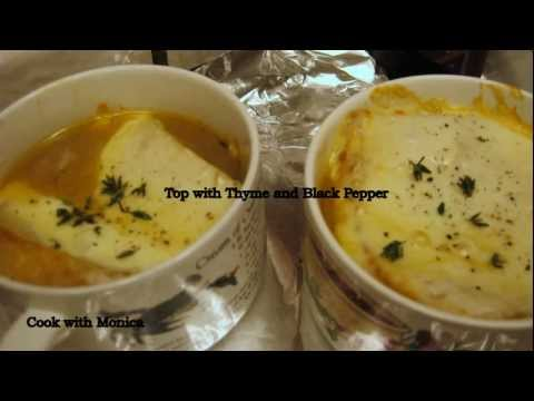 French Onion Soup by cookwithmonica