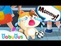 What To Do If Baby Kitten Gets Lost Kids Safety Tips Magical Chinese Characters BabyBus