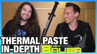 Der8auer Deep-Dives on Thermal Paste: Misconceptions, Curing, & More | LTX 2019