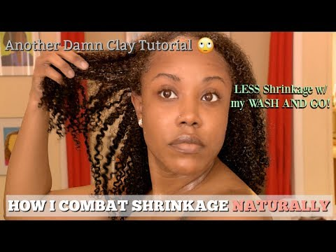HOW I NATURALLY REDUCE SHRINKAGE! | I DIDN'T EVEN REALIZE I WAS DOING IT!