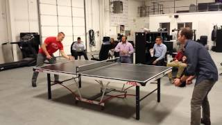 The Great Table Tennis Tournament of Jan 2016