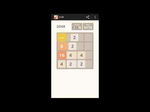 How to make 2048 perfect strategy in 2048 game