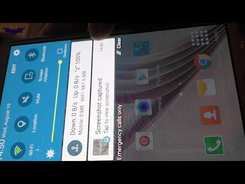 How to take Screenshot & Screen record(without root) on Samsung Galaxy J7