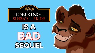 Why The Lion King 2: Simbas Pride Is A Bad Sequel