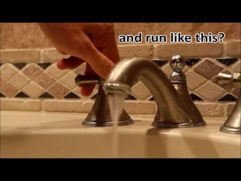 CHEAP & EASY way to clean the calcium build up off your faucet