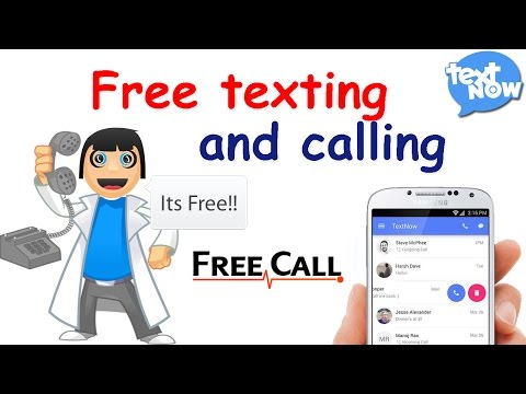 ║ How to use TextNow ║ Free texting and calling on WiFi with the free app ║Motiur Rahaman ║