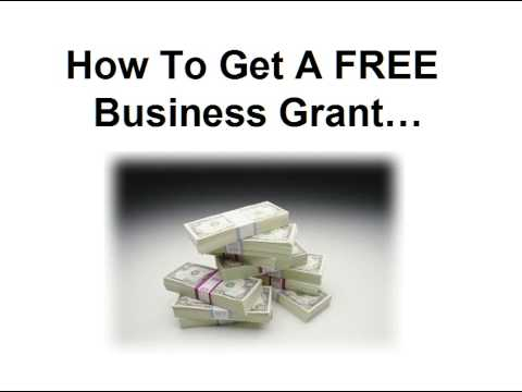 Business Grant Money (How To Get a FREE Business Grant)!