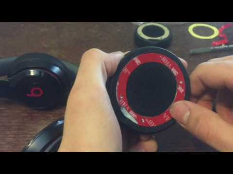 How To Replace Your Beats Solo 2.0/ 3.0 Ear Cushion (Wired & Wireless)