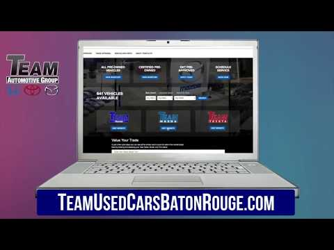 Team Used Cars Baton Rouge | Online Used Cars, Trucks and SUVs