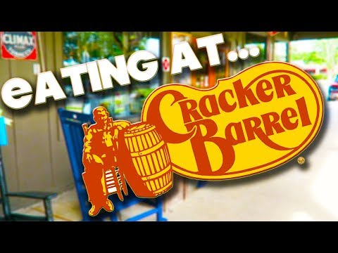 EATING AT - CRACKER BARREL - ORLANDO