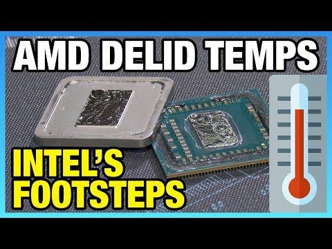 Delid & Liquid Metal Thermals on AMD R3 2200G APU (Pt. 2/2)
