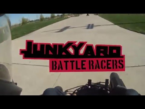 Junkyard Battle Racers (Real-Life Mario Kart) Full Project Video