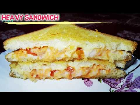 Double Cheese Heavy Sandwich Recipe in hindi Cheese Sandwich Recipe