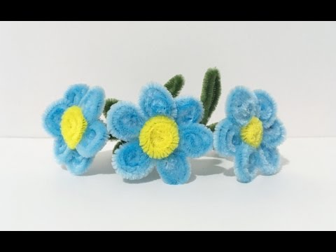 ABC TV | How To Make Easy Flower From Pipe Cleaner - Craft Tutorial