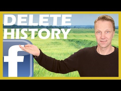 Delete Facebook Search History and Watch History 2018