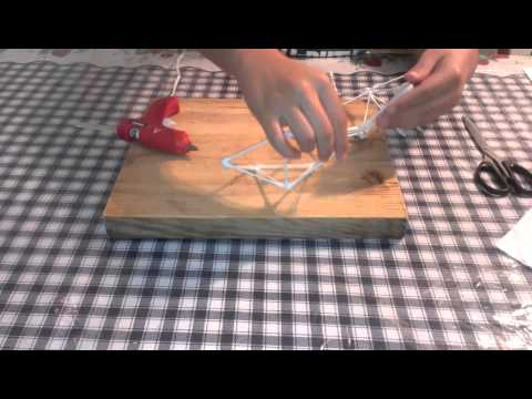 How to create a Cotton Swab Icosahedron