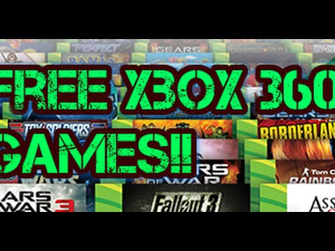 free xbox 360 games 2017