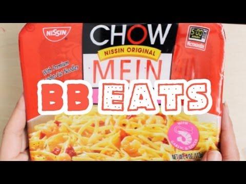 ๑BB EATS๑ - ๑BB EATS๑ Nissin Chow Mein w/ Shrimp!