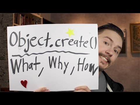 Object.create - Object Creation in JavaScript P6 - FunFunFunction #57