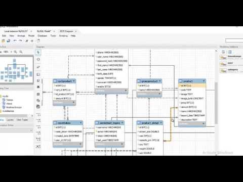 How to create EER Diagram in MySQL using MYSQL Workbench