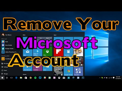How to Sign Out From Microsoft Account in Windows 10