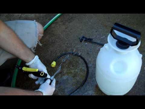 Garden sprayer fix