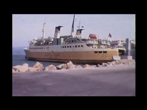 A Cruise from Malaga to Tangier 1971