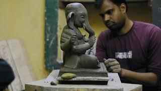 Ganapati Bappa Making | Video cover by- Yash Papinwar  | Art By- Amol Tajnekar